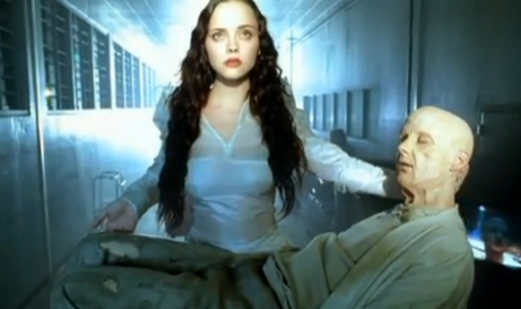Christina Ricci and Moby